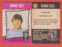 Coventry City Ronnie Rees 37